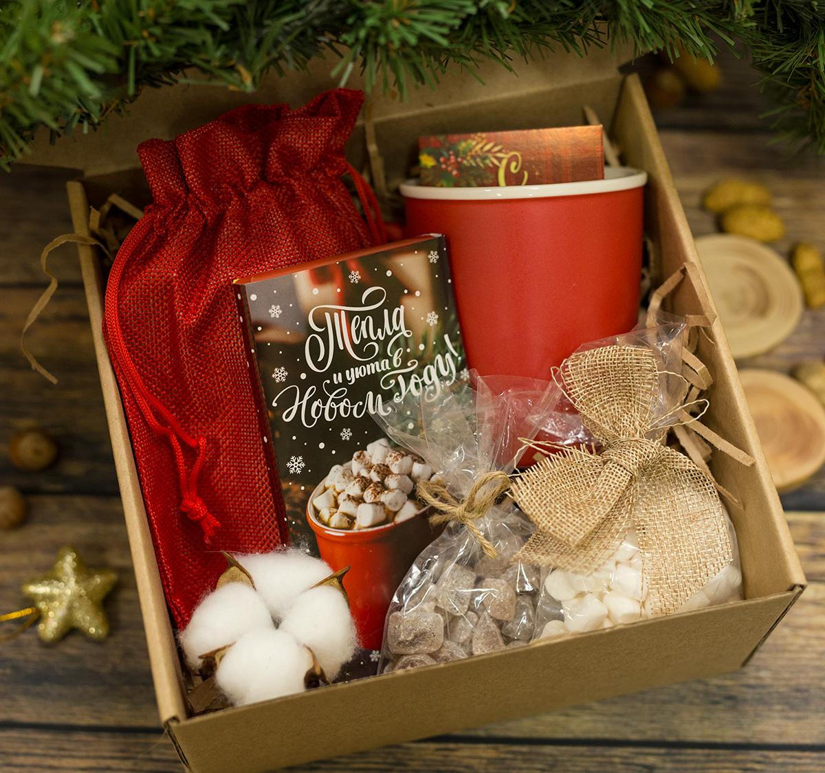 """Новогодний подарочный Hygge Box """"Уютный вечер"""""""